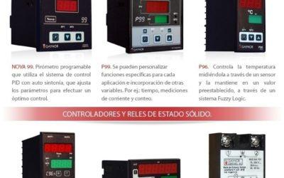 Resolvemos su consulta técnica con la más amplia gama de Pirómetros, Contadores y Relés.